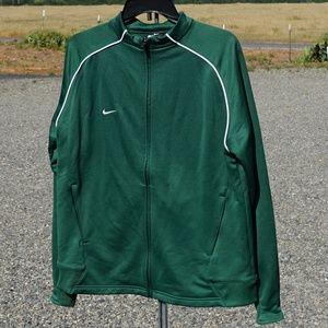 Nike zip up sweat shirt size XL VGUC